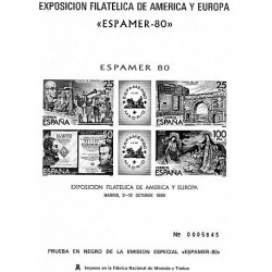 1980  EXPOSICIÓN DE AMÉRICA Y EUROPA ESPAMER 80
