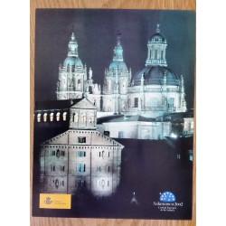 PLIEGO 2002 FILATELIA JUVENIL Salamanca