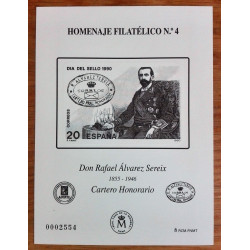 2006 HOMENAJE FILATÉLICO RAMÓN CARANDE