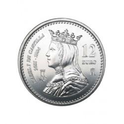12€ PLATA ISABEL CATÓLICA 2004