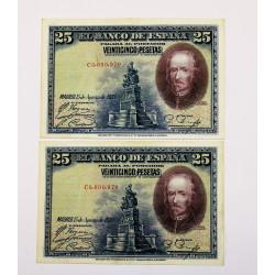 500 PESETAS 24 JULIO 1927