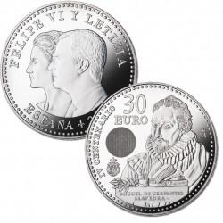 MONEDA DE PLATA DE 30€ AÑO 2016