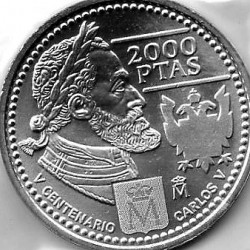 MONEDA DE 2000 PTS DEL 2000