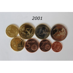 SERIE EUROS ESPAÑA 2001
