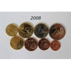 SERIE EUROS ESPÀÑA 2008