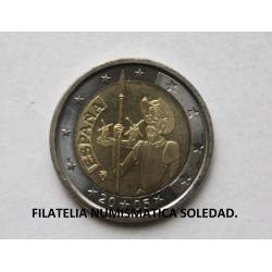 2 € EL QUIJOTE 2005