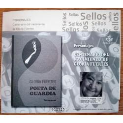 PRUEBAS DE ARTISTA 2018 GLORIA FUERTES