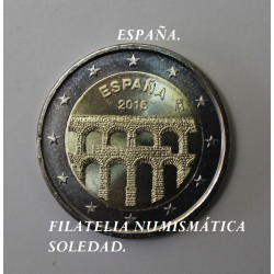 2 € ACUEDUCTO DE SEGOVIA 2016