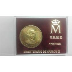 MEDALLAS DEL BICENTENARIO DE CARLOS III