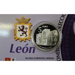 5 € PLATA LEÓN
