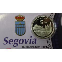 5 € PLATA SEGOVIA