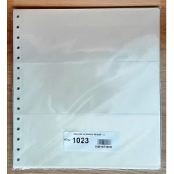 paquete de 10 FUNDAS DE 3 ESPACIOS BILLETES