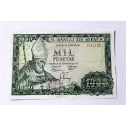 1.000 PESETAS 19 NOVIEMBRE 1965