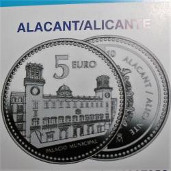 MONEDAS DE 5 € COMUNIDAD VALENCIANA