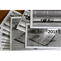 Filoestuches HEFAR NEGROS para todos los sellos de 2017