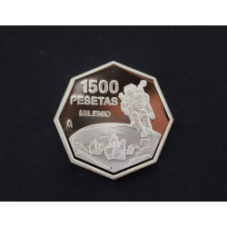 MONEDA DE 1.500 PTS  MILENIO