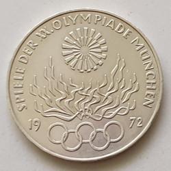 Alemania 10 marcos 1972 XX Juegos Olímpicos de Verano D