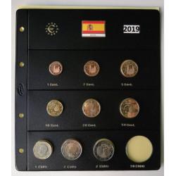 Serie de 9 monedas de España 2019