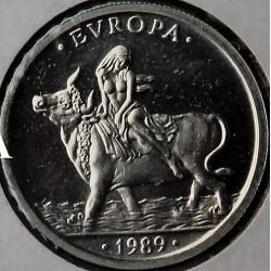 MONEDA DE 1 ECU DE 1989