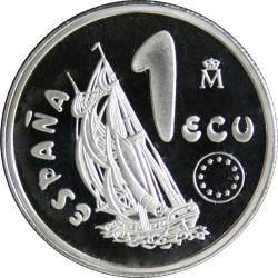 MONEDA DE 1 ECU DE 1995