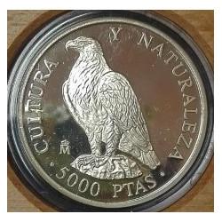 2000 PESETAS PLATA AGUILA IMPERIAL