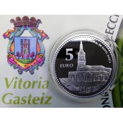 MONEDAS DE 5 € PAIS VASCO