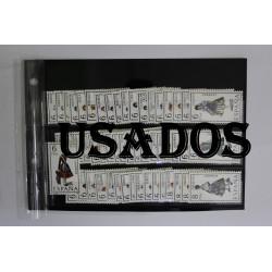 SELLOS DE TRAJES REGIONALES USADOS