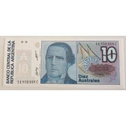 ARGENTINA BILLETE 5 AUSTRALES