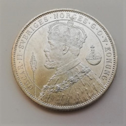 SUECIA 2 K 1897 OSCAR II