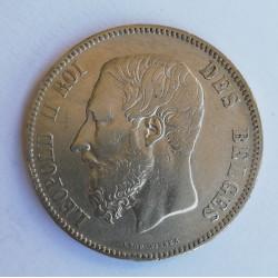 Bélgica 1867 5 Francos