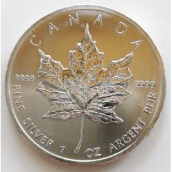 1 ONZA CANADÁ 5 DÓLARES 2011