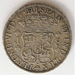 8 REALES 1753 LIMA
