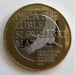 3 EUROS DE ESLOVENIA