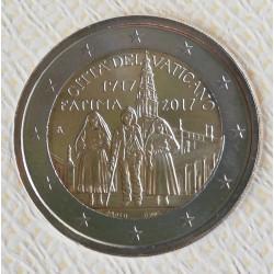 2 EUROS  VATICANO 2a 2017  APARION DE FÁTIMA
