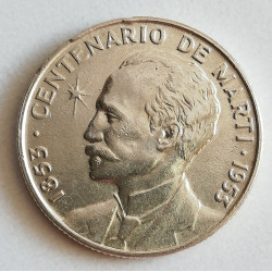 Cuba 22 centavos 1953