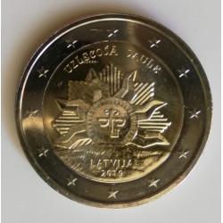 2 € Letonia 2019