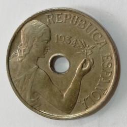 25 CÉNTIMOS 1934 MADRID