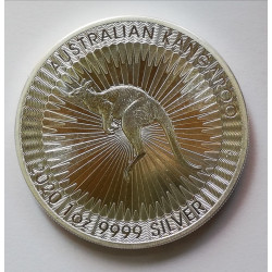 Canguro 2020 Dólar de Australia.