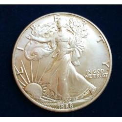 USA 1 DOLAR LIBERTY 1988 - 1 ONZA