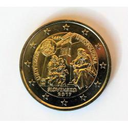 2 EUROS ESLOVAQUIA 2017