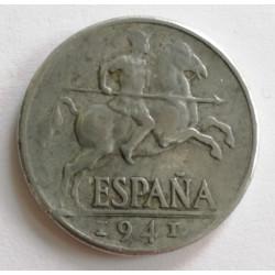 10 CENTIMOS 1941 VARIANTE V