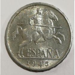5 CENTIMOS 1945 ESTADO ESPAÑOL