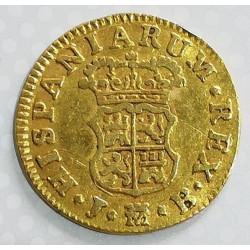 1/2 ESCUDO ORO FERNANDO VI 1757