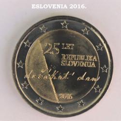 2 € ESLOVENIA 2016