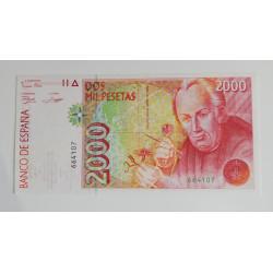 2.000 pesetas 1992