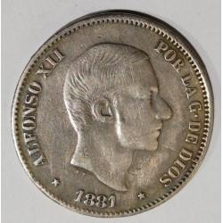 50 CENTAVOS DE PESO 1881