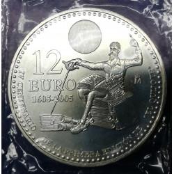 12€ PLATA EL QUIJOTE 2005
