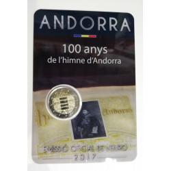 2 € El himno de Andorra 2017