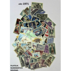 AÑO COMPLETO SELLOS 1971