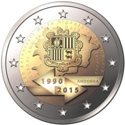 2 € ANDORRA MAYORIA DE EDAD 2015